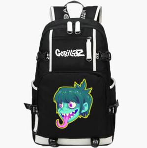 Murdoc рюкзак Gorillaz бас-гитарист день пакет рок-группа школа сумка музыка packsack качество рюкзак Спорт школьный открытый рюкзак