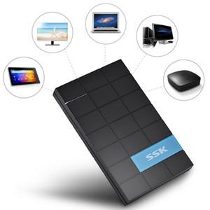 """SSK SHE080 2.5 인치 USB 3.0 하드 드라이브 디스크 외부 인클로저 케이스 상자 7mm / 9.5mm / 12mm / 12.5mm 2.5 """"SATA HDD SSD 하드 디스크"""