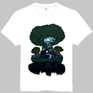 Ori ve kör orman t shirt Eylem tarzı kısa kollu cüppe Oyun tees Eğlence giyim Kaliteli pamuk kumaş Tshirt