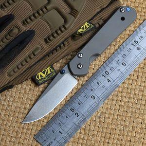 Chris Reeve piccolo Sebenza D2 Coltello a lama pieghevole in titanio Manico tattico da campeggio caccia tasca esterna sopravvivenza coltelli Strumenti EDC