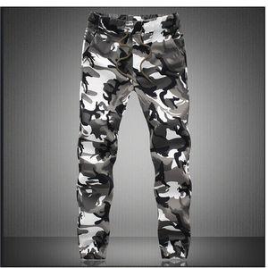 M-5X Mens Basculador Outono Lápis Harem Pants Calças Dos Homens Camuflagem Calças Soltas Confortáveis Calças De Carga Camo Corredores