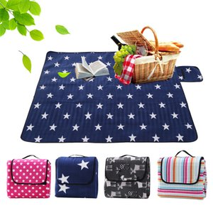 3 size Foldable Outdoor Camping Mat Pad Picnic Mat Pad Blanket Baby Climb Plaid Blanket Waterproof Moistureproof Beach Mat