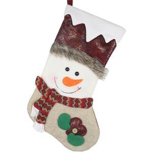 1PC عيد الميلاد جوارب هدية كاندي حقائب الجوارب الحلي عيد الميلاد قلادة السنة الجديدة سوبر ماركت الرئيسية مخزن متجر الديكور
