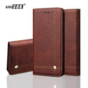 Retro Leather Case For Huawei Nova 3i Flip Protection Phone Case For Huawei P Smart Plus 6.3'' Wallet Adsorption Back Cover Capa