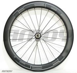 HED 검은 페인트 폭 무료 배송 23mm 50분의 38 / 60 / 88mm 탄소 자전거 바퀴 전체 탄소 700C 도로 자전거 바퀴