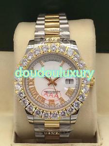 El reloj para hombre de moda de lujo de diamantes de primera categoría es el reloj deportivo más vendido de relojes de boutique más vendidos del mundo.