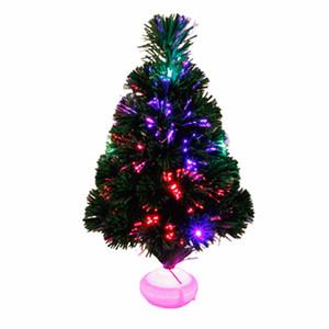 Noel ağacı 45 cm fiber optik şerit led işık fener simülasyon renk Noel ağacı tatil parti hediye