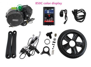 EU US No taxes 48V 750W Bafang 8Fun BBS02 mid drive electric motor kit with integrated Controller and LCD Display