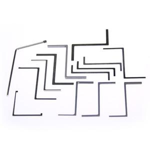 HUK 14 Stück Spannschlüssel Drehwerkzeuge Set - Ersatz-Spannschlüssel für Ihre Lock-Pick-Sets