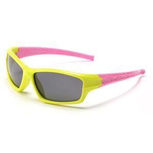 Kinder Sonnenbrille Polarisierte Sonnenbrille Flexible Kind Baby Sicherheit Sonnenbrille Sport Jungen Mädchen UV400 Brillen Shades