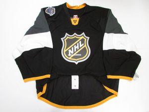 Personnalisé Personnalisé 2016 NHL TOUT STAR GAME AUTHENTIQUE DARK EDGE JERSEY GOALIE CUT 60 Mens Stitched Personnalisé Hockey maillots