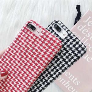 Hot Vente Top qualité simple Nid d'oiseau Téléphone mobile Shell Pour iphone7 / 8 Laine Housse de protection