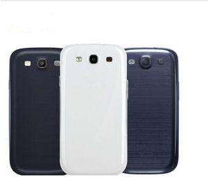 Original para Samsung Galaxy S3 S4 S5 S6 S7 S6 borde S7 borde S8 S8P S9 + ack Funda de la carcasa para Samsung S3 i9300 Reemplazo de la cubierta de la batería