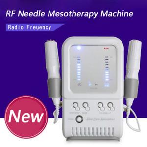 Nuevo Bipolar RF Sin aguja Mesoterapia Cara Cuerpo Dispositivo de belleza Electroporción Rejuvenecimiento de la piel Rejuvenecimiento de la piel