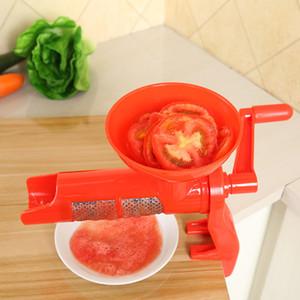 NOVO Design Espremedor de Tomate Manual de Mão de Plástico Máquina de Imprensa de Suco de Tomate Espremedor de Frutas Espremedor de Molho de Tomate Ferramenta