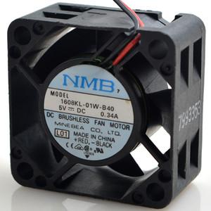 Orijinal NMB 1608KL-05W-B39 5 V 0.34A 4020 4 CM sunucu soğutma fanı