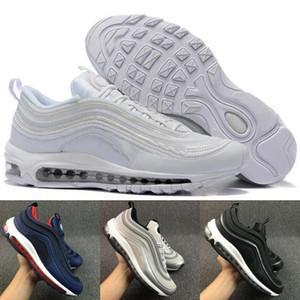 Vendita all'ingrosso Top Quality 97 OG X Undftd Sneaker Scarpe da corsa da uomo Scarpe da ginnastica da donna Calzature sportive Nero Bianco Scarpe da ginnastica atletiche 36-45 Nike Air Max AIRMAX
