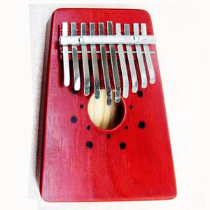 10 Anahtar Parmak Mbira Kalimba Başparmak Cep Piyano Çocuk Ahşap Afrika Karimba Mini El Marimba Perküsyon Enstrüman Hediyeler