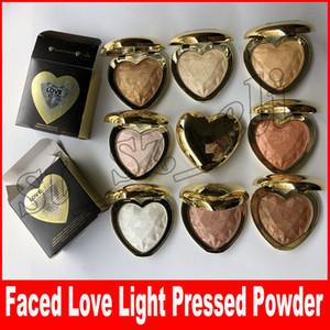 Nuevo maquillaje facial en forma de corazón Preseed Power 8 colores resaltador paleta de energía amor de alta calidad luz sombra de ojos envío gratis