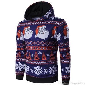 Yeni Varış Erkekler Hoodies Marka Caual Hoodies Erkekler Moda Noel Sıcak Hoody Polo Mens Hoody Ceket Kazak Mens Noel Hediyesi WT291