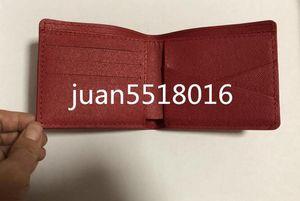 Vendita calda! Portafoglio corto degli uomini di marca, borsa classica della patchwork maschio con il titolare della carta tascabile della moneta con il contenitore di regalo