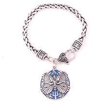 Abricot Fu Drop Shipping PSYCHE Déesse Pendentif Papillon SOUL Neptune Amulette Blé Chaîne En Cuir Bracelet Bijoux Cadeau
