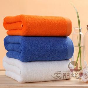 Toalla de baño 100% algodón genuino turco Deportes Viajes gimnasia de nadada de la playa camping Toalla (140 cm de gran tamaño * 70cm 500g)