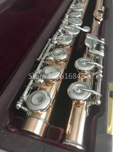 Nuovo arrivo Muramatsu Flauto 16 chiavi chiuse fori di alta qualità in oro laccato flauto Marca strumento musicale con custodia