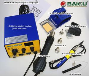 BAKÜ BK-601D Dijital Rework Istasyonu, Hava Sıcak Tabancası ve Lehim Demir 1. Yüksek kalite.