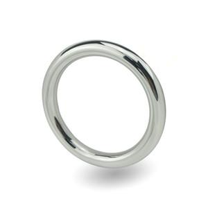 Joyas masculinas del pene juguetes sexuales para hombres anillo de pene de acero inoxidable anillo de pene glande anillos sextoys productos para adultos Y18110302