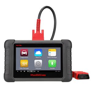 Autel MaxiDAS DS808 Otomotiv Teşhis Tarayıcı ve Analiz Sistemleri Tarama Aracı Android Sistemi Güncelleme Çevrimiçi Standart Set Destekler