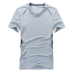 Быстрые Сухие Мужчины Большие Футболки Лето Сжатие Мышцы Футболка Бодибилдинг Футболка Дышащая Активная Рубашка Для Мужчин