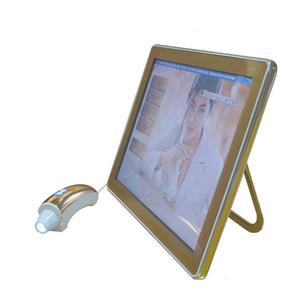 Лучшая цена цифровой детектор влаги кожи с сенсорным экраном для системы диагностики кожи Уход за кожей салон необходим