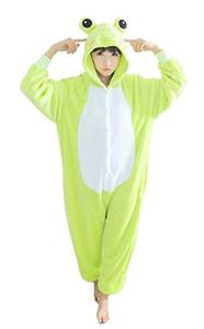 Pigiama animale della rana di costume dei costumi cosplay della tuta di Halloween