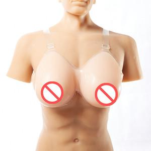 Два цветов вода падение с планкой трансвестита грудной клетки грудей с силикагелем поддельных грудей груди протез crossdress силиконовых форм груди