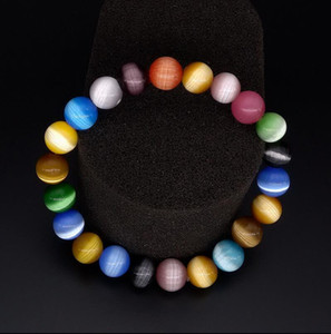 Parlayan Güzellik - Renkli Opal Bileklik Jade Bileklik