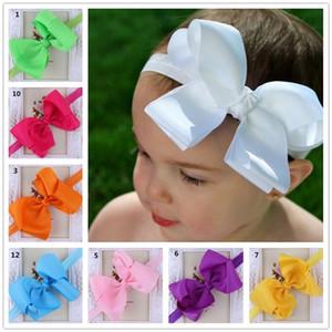 Infant Bow Headbands Girl Flower Headband Children Hair Accessories Newborn Bowknot Flower Hairbands Baby Photography Props Y149