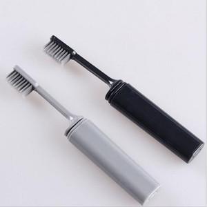 Carvão vegetal de Bambu compacto portátil Dobrável Escova de Dobras Viagens de Viagem Ao Ar Livre Dobrável Ao Ar Livre Fácil de Tomar Dobrável Teethbrush 10 * 15 cm