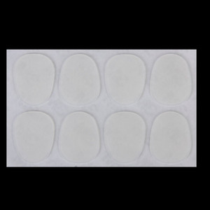 8pcs Alto Tenor Sax Mouthpiece Patches Pads 0.8mm---Clear