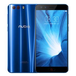 "Original del teléfono celular ZTE Nubia Z17 Mini S 4G LTE 6 GB de RAM 64 GB ROM Snapdragon 653 Octa Core Teléfono de la huella digital de 16MP ID NFC Smart Mobile 5.2"""