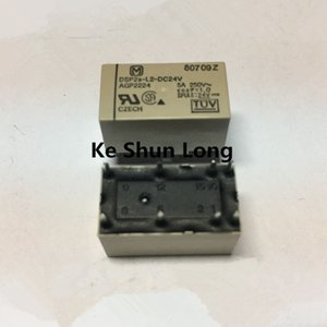Free shipping lot (5 pieces lot) DSP2A-L2-DC24V AGP2224 DSP2A-L2-24V DSP2A-L2-24VDC 8PINS 5A250V 24V Power Relays original New