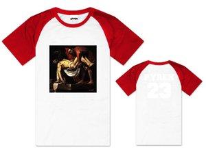 Envío gratis nueva venta moda PYREX VISION 23 camiseta impresa camisetas HBA camiseta nueva camiseta moda camiseta 100% algodón