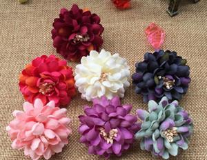 Flannelette цветочные головки, гвоздики, цветы, хризантемы, искусственные цветы, L456