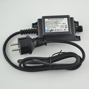 Nouveau 100V-240V DC 12V 0.5A éclairage extérieur étanche adaptateur d'alimentation IP68 UE / US / UK Plug DC-