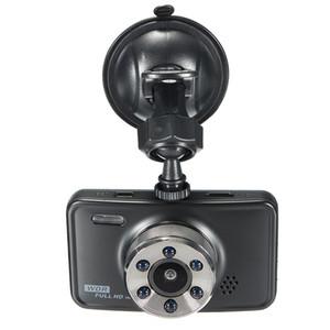 """Full HD 1080 P carro DVR dashcam veículo camcorder digital gravador de condução de segurança 140 ° ângulo de visão 3 """"night vision G-sensor motion detection"""