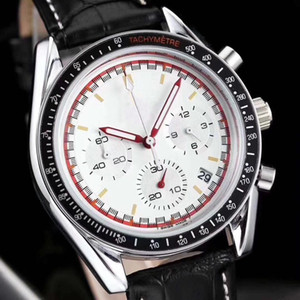 Marque de luxe stopoesqwatch Mene's OU FEMMES AAA lEn acier inoxydable Marque Calibre 8880 Montre Analogique En Verre Retour Montre