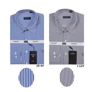 Männer beiläufige Hemden Herren Hemd Männer festes Shirt Art und Weise 2018 Frühlingsherbst hohe Qualität viele Farben lange Hülsen männliches Hemd