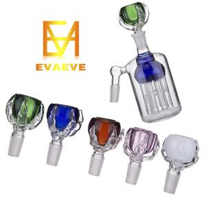 El último tazón de vidrio Dragon Claw; Porta hierbas de vidrio con junta macho de 14 mm y 19 mm para tubos de agua Bongs