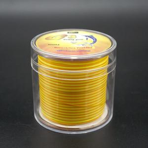 500M Nylon Fishing Line Dual Color Monofilament Nylon Line 0.2 mm-0.50 mm High Strength Rock Fishing line
