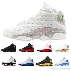 13 scarpe da basket da uomo Classe 2002 2002 Phantom Bianco Grigio Italia Blu Ha ottenuto il gioco Gatto nero allevato Hyper Royal DMP Barons 13s sneakers